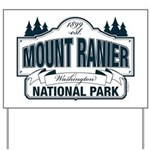 Mt Ranier NP Yard Sign