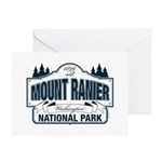 Mt Ranier NP Greeting Card