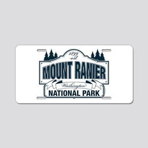 Mt Ranier NP Aluminum License Plate