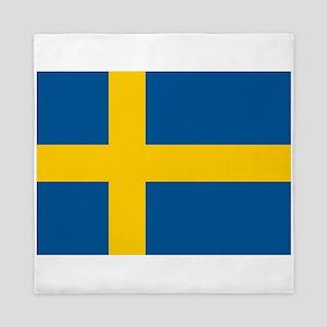 Flag of Sweden Queen Duvet