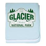 Glacier National Park baby blanket