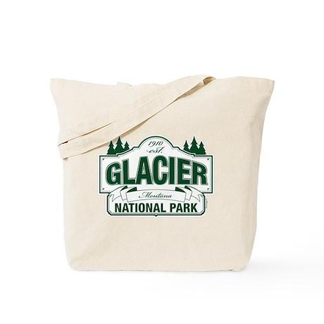 Glacier National Park Tote Bag