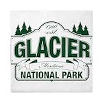 Glacier National Park Queen Duvet