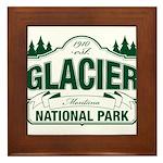 Glacier National Park Framed Tile