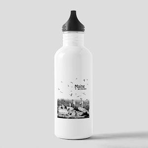 Maine loves Bird Watchers Water Bottle