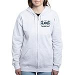 Glacier National Park Women's Zip Hoodie