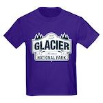 Glacier National Park Kids Dark T-Shirt