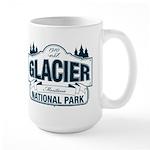 Glacier National Park Large Mug