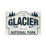Glacier National Park Rectangle Magnet (10 pack)