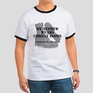 National Guard Aunt Nephew wears CB T-Shirt