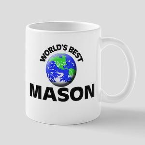 World's Best Mason Mug