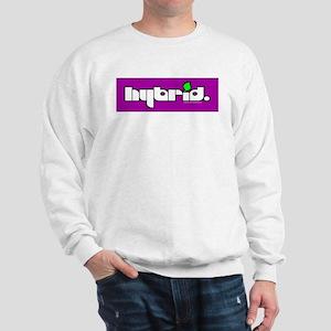 HYBRID - Logo on color Sweatshirt