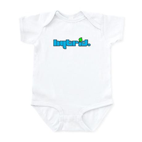 HYBRID - Logo on white Infant Bodysuit