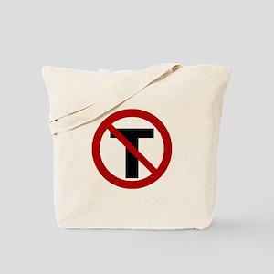 NoTrust Logo Tote Bag
