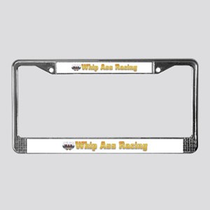 Whip Ass Racing &copy License Plate Frame