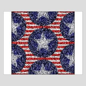 Van Gogh's Bonnie Blue Flag Small Poster