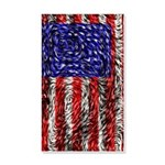 Van Gogh's Flag of the US 20x12 Wall Decal