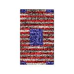 Van Gogh's Flag of the US 3'x5' Area Rug
