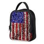 Van Gogh's Flag of the US Neoprene Lunch Bag