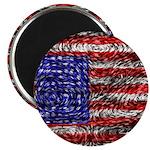 Van Gogh's Flag of the US Magnet