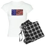 Van Gogh's Flag of the US Women's Light Pajamas