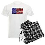 Van Gogh's Flag of the US Men's Light Pajamas