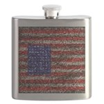 Van Gogh's Flag of the US Flask