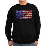 Van Gogh's Flag of the US Sweatshirt (dark)