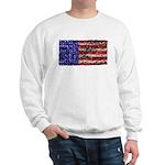 Van Gogh's Flag of the US Sweatshirt