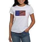 Van Gogh's Flag of the US Women's T-Shirt