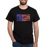 Van Gogh's Flag of the US Dark T-Shirt