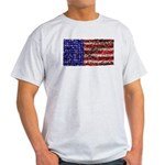 Van Gogh's Flag of the US Light T-Shirt