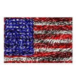 Van Gogh's Flag of the US Postcards (Package of 8)