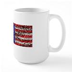 Van Gogh's Flag of the US Large Mug