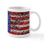 Van Gogh's Flag of the US Mug