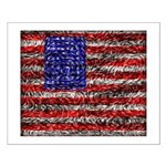 Van Gogh's Flag of the US Small Poster