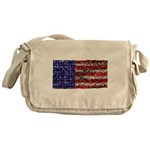 Van Gogh's Flag of the US Messenger Bag