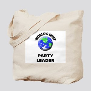 World's Best Party Leader Tote Bag