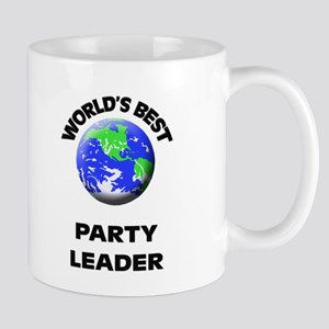 World's Best Party Leader Mug