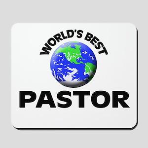 World's Best Pastor Mousepad