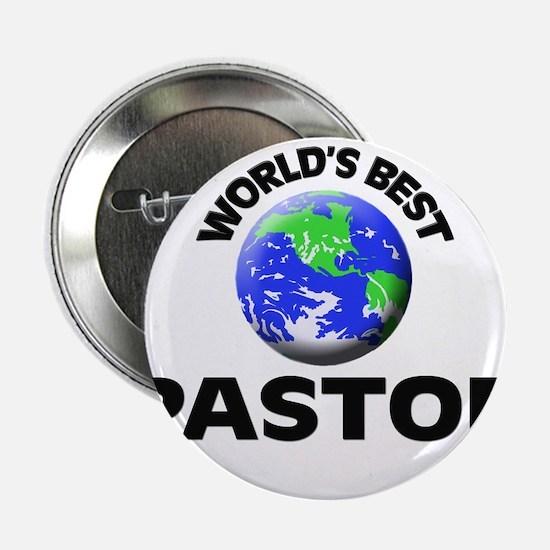 "World's Best Pastor 2.25"" Button"