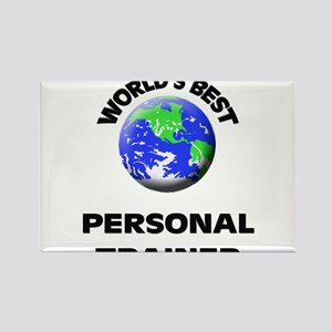 World's Best Personal Trainer Rectangle Magnet