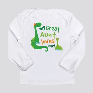 My Great Aunt Loves Me Long Sleeve Infant T-Shirt