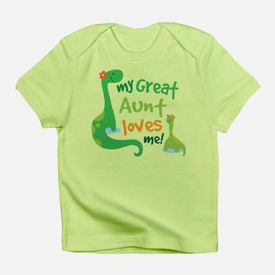 My Great Aunt Loves Me Infant T-Shirt