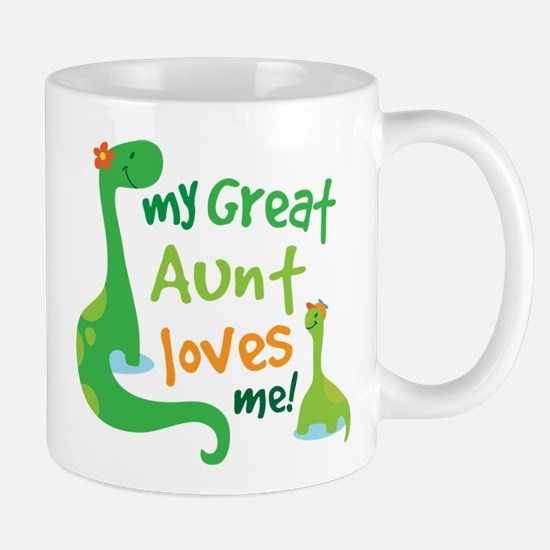 My Great Aunt Loves Me Mug
