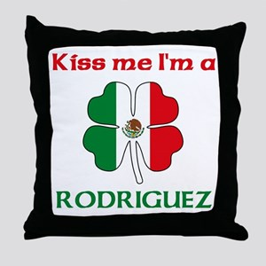 Rodriguez Family Throw Pillow