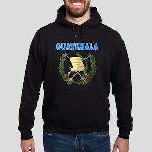 Guatemala Coat Of Arms Designs Hoodie (dark)