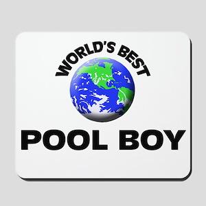 World's Best Pool Boy Mousepad