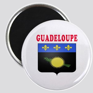 Guadeloupe Coat Of Arms Designs Magnet