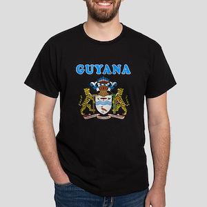 Guyana Coat Of Arms Designs Dark T-Shirt
